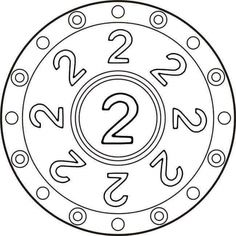 Numbers mandala coloring pages - Number Games, Number Two, Preschool Painting, Irrational Numbers, I Love Math, Numbers Kindergarten, Mandala Coloring Pages, Group Work, Math For Kids