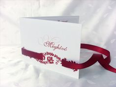 szalagos esküvői meghívó 024.01 Invitation Cards, Invitations, Place Cards, Place Card Holders, Design, Vestidos, Weddings, Save The Date Invitations, Invitation