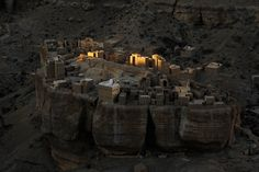 "With my police escort I had arrived at my lodgings at dusk, perched on the edge of a massive escarpment in Yemen' Wadi Doan,"" says Your Shot..."