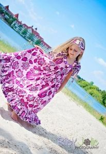 Helen's Tween  Maxi Dress PDF Sewing Pattern by Create Kids Couture
