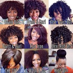 CUTE Natural hairstyles for black women... teamblackhurromg http://www.shorthaircutsforblackwomen.com/the-max-hydration-method-complete-natural-hair-tutorial/