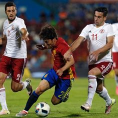 David Silva poised to win 100th cap as Spain begin Euro 2016 campaign