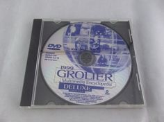 Grolier 1999 Multimedia Encyclopedia Deluxe Edition Windows 98 95 3.1 NT   #Grolier #Multimedia #Encyclopedia #Windows #Software #DVDROM #Computer #Disc #Vintage #eBay