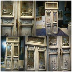 ♥ Pipi Turner Miniatures ♥: Neue alte Tür ❤️