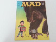 Vintage Mad Magazine No. 112 July 1967 Tarzan Giant Ape Cover