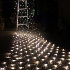 Cvlife LED 4.4M x 1.5M 324LEDS Net Fairy Light Lighting Christmas Xmas Wedding Warm White: Amazon.co.uk: Lighting