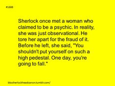 Sherlock Head Canon: Photo   NONONONONONONONONO I DO NOT ACCEPT