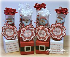 Rocky Mountain Paper Crafts More ideas for Whoos Your Valentine kit 3d Christmas, Christmas Paper Crafts, Very Merry Christmas, Christmas Projects, Christmas Treats, All Things Christmas, Holiday Crafts, Christmas Cards, Test Tube Crafts