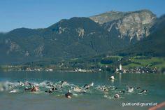 Startschuss zur Wolfgangsee X-Challenge mit Panorama auf den Schafberg