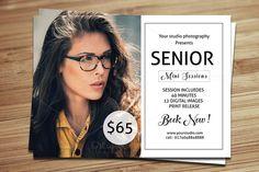 Senior Mini Session Template-V371 by Template Shop on @creativemarket