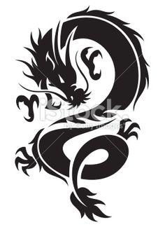 50 best dragon stencil designs images on pinterest dragon tattoo