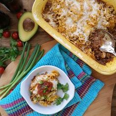 Easy Taco Casserole | Beef, salsa, and crunchy chips make up this soon-to-be new family fave.