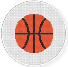 BasketBall Cross Stitch Pattern | Craftsy