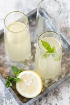 Bubbles and Elderflower liqueur are the perfect pair in this Elderflower French 75 cocktail recipe!