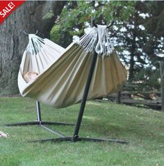 Our top choice to challenge the elements is our Sunbrella® fabric style double hammock. This Brazilian style double hammock is made with Sunbrella® fabric to outlast every season, year after year. It is as comfortable as cotton, creating the perfect refuge for an afternoon snuggle.