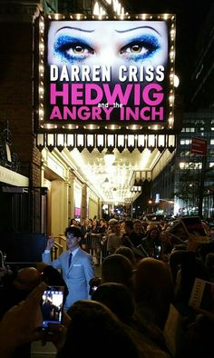 @Darren Criss' debut performance in 'Hedwig and the Angry Inch'