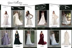 Medieval wedding dresses, Fairy & Celtic wedding dresses by Rivendell Bridal