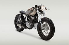 Honda CB250 Cafe Racer Pentagon by Classified Moto