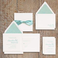 Ampersand Wedding Invitation Suite