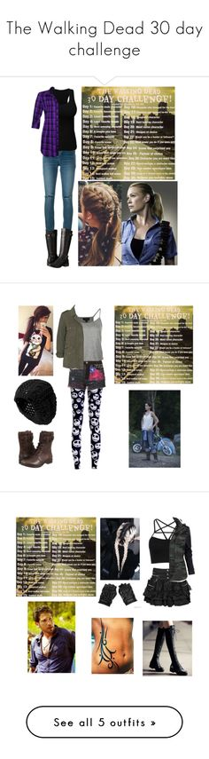 """""""The Walking Dead 30 day challenge"""" by bubble-loves-you ❤ liked on Polyvore featuring Yves Saint Laurent, Eürosoft, Sarah Wayne, Bambam, Topshop, Lily Aldridge For Velvet, UGG Australia, Nixon, WithChic and Lipsy"""