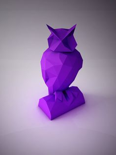 Luxury The Wise Owl Template The owl is one of our animal friendly DIY paper craft projects to create a polygonal shaped sculpture