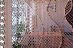 木製建具 店舗 shop 和食レストラン 組子欄間 衝立 株式会社タニハタ