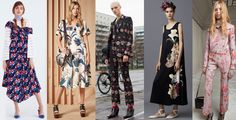 Trends to Try From the 2016 Pre-Fall Collections - Large Florals.