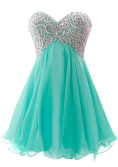 Amazon.com: Fiesta Formals Short Chiffon Metallic Silver Embroidery Dress: Clothing