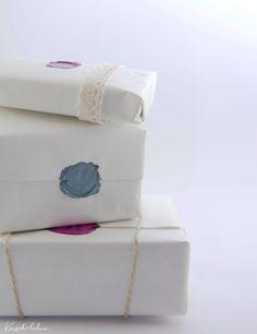 #Selbermachen: Geschenke mit Siegelstempel verpacken by kreativbuehne