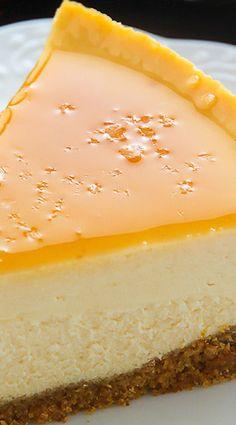 Salted Caramel Eggnog Cheesecake