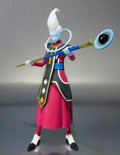 Figura Whis, 15cm. Dragon Ball Z Sh Figuarts (Bandai)  Figura de 15cm perteneciente a la serie Dragon Ball Z, con el personaje Whis.