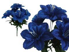 72 Silk Daffodil - Royal Blue