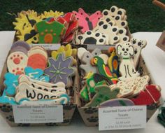 Ellington Farmers Market. Award winning Pastries 4 Pets dog bakery, the artistry in their product is amazing! Your pooch would love you to pick up a few treats.  http://ellingtonfarmersmarket.com/