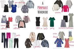 Purging The Closet: A 30-Piece Wardrobe: I need to do this.  I buy so many random things and never wear half of it.