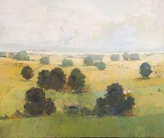 Open Fields : landscape paintings : Landscapes, Paul Balmer