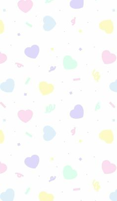 Cute Pastel Wallpaper, Soft Wallpaper, Cute Patterns Wallpaper, Heart Wallpaper, Kawaii Wallpaper, Flower Wallpaper, Iphone Background Wallpaper, Wallpaper Iphone Cute, Aesthetic Iphone Wallpaper