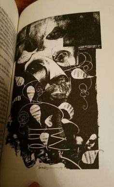 Dave McKean art taken from More Tales From the Forbidden Planet