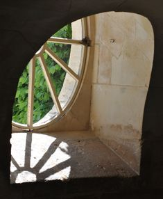 petit trianon chateau window detail