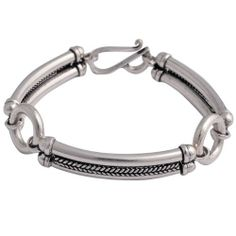 Amazon.com: Indian Bollywood Style Bracelets Sterling Silver Jewelry 7 Inches: ShalinCraft: Jewelry