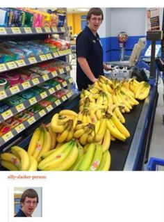 And Bubba had 153 bananas... Haha they just had a big sale on bananas and were selling 50lb boxes for $5. This is what it looked like!