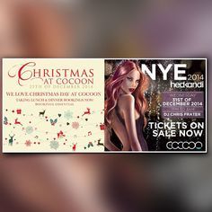 Christmas at Cocoon of December 2014 Event Flyers, December 2014, Day, Christmas, Navidad, Weihnachten, Yule, Christmas Movies, Xmas