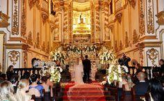 #Casamento de Preta Gil na #Igreja Nossa Senhora do Carmo, no centro do Rio de Janeiro, na noite de terça-feira (12).