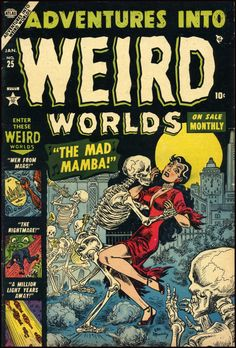 Adventures Into Weird Worlds #25