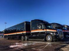 Penske Racing Discount Tire Freightliner Race Transporters
