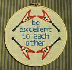 Puppy Love Preschool: Words of Wisdom Wednesday: Bill & Ted