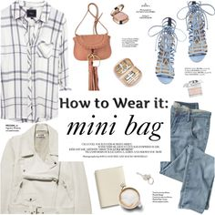How To Wear Mini bags2 Outfit Idea 2017 - Fashion Trends Ready To Wear For Plus Size, Curvy Women Over 20, 30, 40, 50