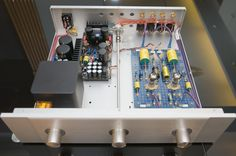 DIY 6922 / E88CC Tube preamp
