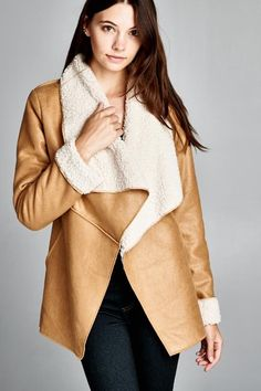 Addison Coat in Camel