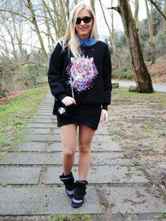 lapetiteblonde Outfit   Invierno 2012. Cómo vestirse y combinar según lapetiteblonde el 11-2-2013