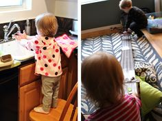Ideas to entertain the little ones on sick days.